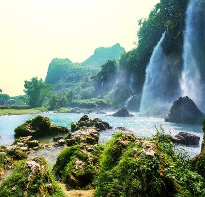 Carta da parati Cascata in Vietnam