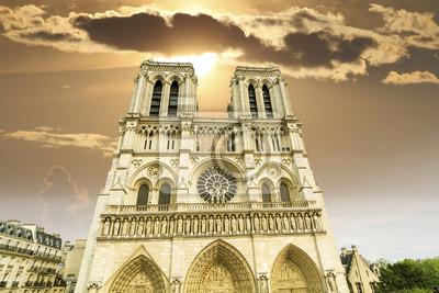 Carta da parati Cattedrale di Notre Dame.