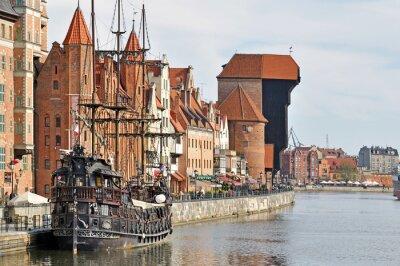 Carta da parati Centro storico di Danzica