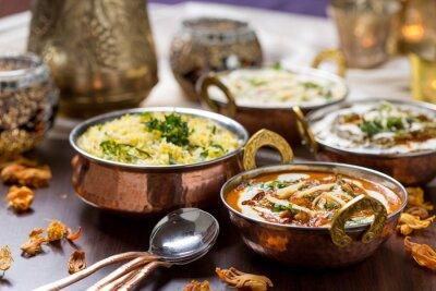 Carta da parati cibo indiano