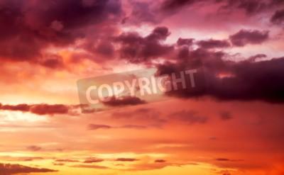 Carta da parati cielo viola tramonto