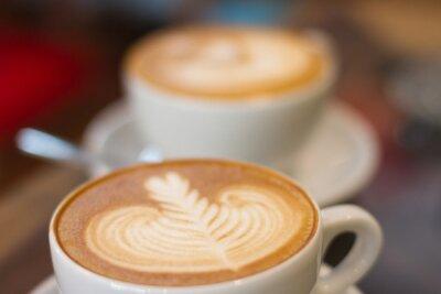 Carta da parati Coffee late soft focus