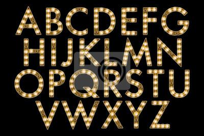 Carta da parati collezione alfabeto tendone