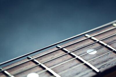 Carta da parati Collo della chitarra primo piano