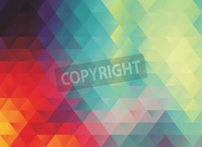 Carta da parati Colorato poligonale astratto vettore trama o sfondo