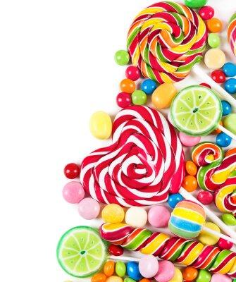 Carta da parati Colorful candies