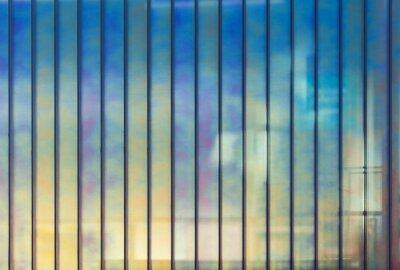 Carta da parati Colorful ufficio muro di vetro, fondo