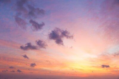 Carta da parati Colori delicati di Sunrise Sky