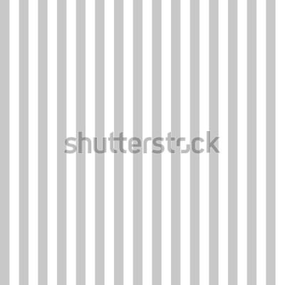 Carta da parati Colori grigio e bianco senza cuciture della banda del modello. Vettore verticale del fondo dell'estratto della banda del modello.