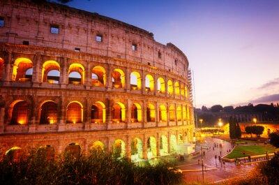 Carta da parati Colosseo a Roma, Italia