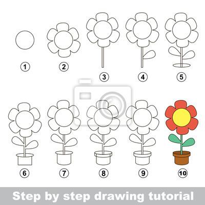 Come disegnare un flower pot carta da parati • carte da parati ... ae68201ca93b