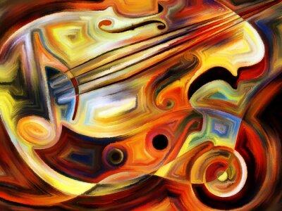Carta da parati Conceptual Music