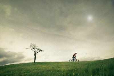 Carta da parati concetto vélo