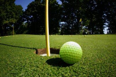 Carta da parati Corso di golf