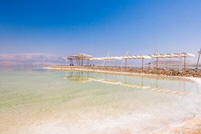 Carta da parati costa Paesaggio del Mar Morto