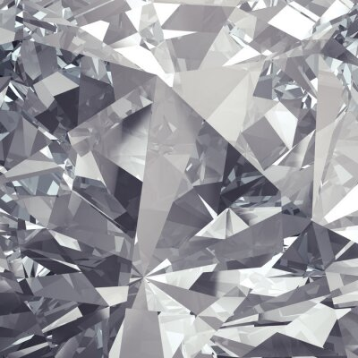 Carta da parati cristallo di sfaccettatura sfondo