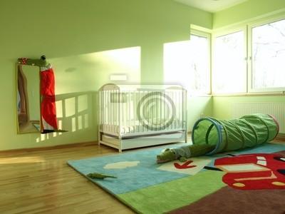Carta da parati: Crocodile tema camera da letto bambino