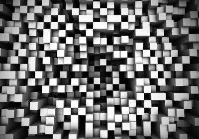 Carta da parati Cube estrusione