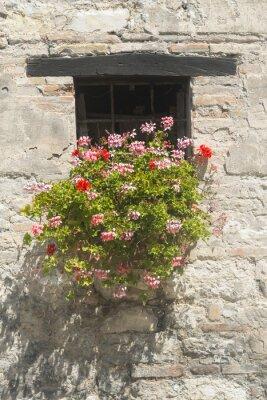 Carta da parati Da vecchia costruzione a Marche (Italia)