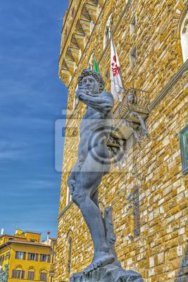 Carta da parati David di Michelangelo.