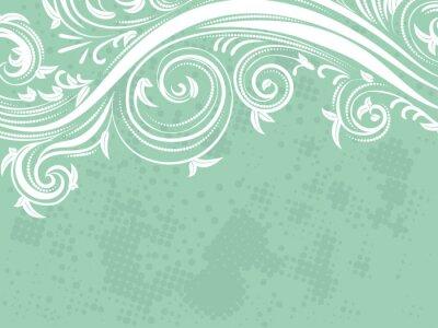 Carta da parati Decorative Floral Background