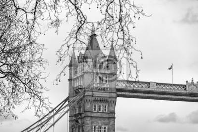 Carta da parati Details of the Tower Bridge