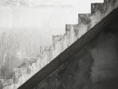 Carta da parati Dettagli Scale architettura costruzione in bianco e nero