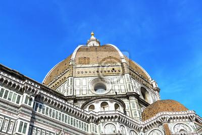 Carta da parati Dettagli sulla cupola di Brunelleschi a Firenze