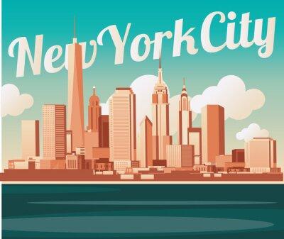 Carta da parati Di New York City