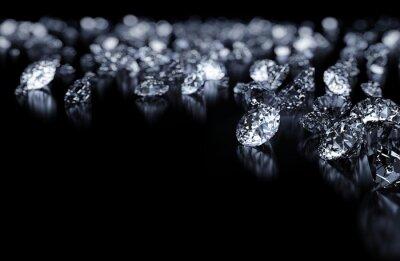 Carta da parati Diamanti sfondo