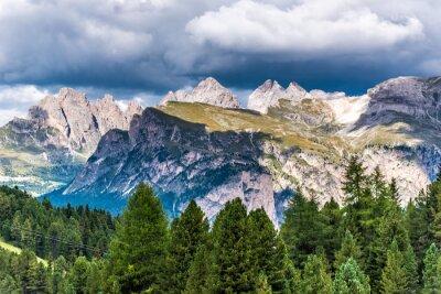 Carta da parati Dolomiti Italia - Val Gardena - Passo Sella