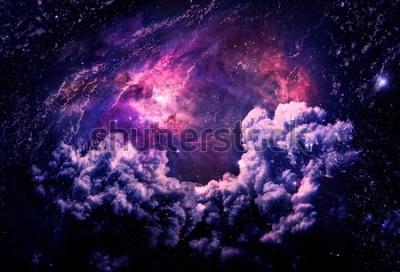 Carta da parati Dreamscape Galaxy - Elementi di questa immagine fornita dalla NASA