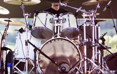 Carta da parati Drums sul palco