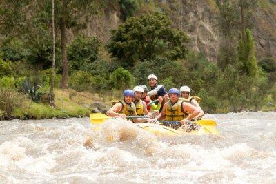 Carta da parati Ecuador Whitewater Rafting