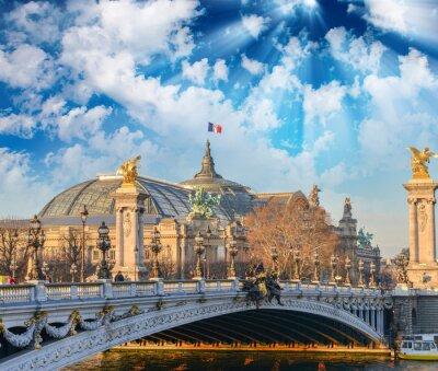 Carta da parati edifici e monumenti di Parigi
