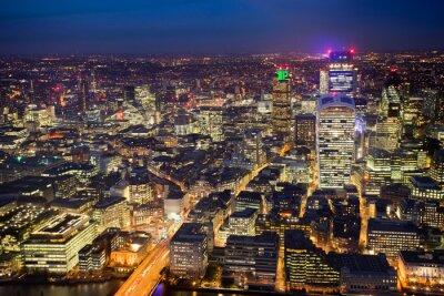 Carta da parati edificio per uffici di affari a Londra, Inghilterra