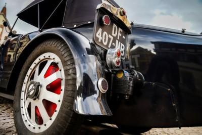 Carta da parati Editoriale 12 settembre 2015: la Francia: XXXIIeme Festival Enthousiastes Bugatti a Molsheim. Auto d'epoca.