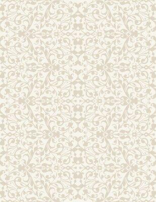 Carta da parati Elegante elegante astratto carta da parati floreale. Seamless pattern