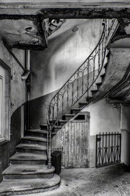 Carta da parati Escalier vétuste