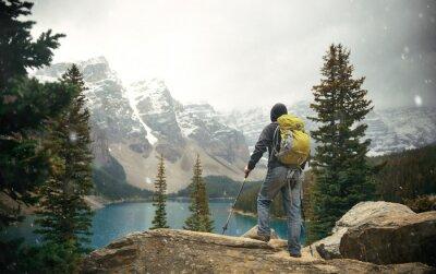 Carta da parati Escursionista