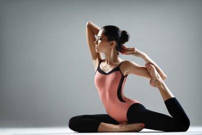 Carta da parati esercizio di yoga
