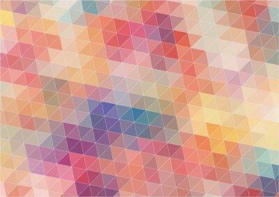 Carta da parati Estratto bidimensionale sfondo colorato