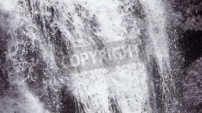 Carta da parati Estratto cascata dura texture di sfondo