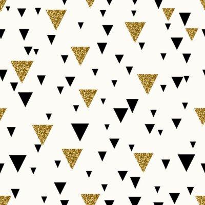Carta da parati Estratto geometrico Seamless Pattern