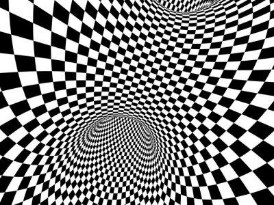Carta da parati Estratto illusione
