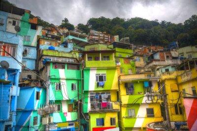 Carta da parati favela