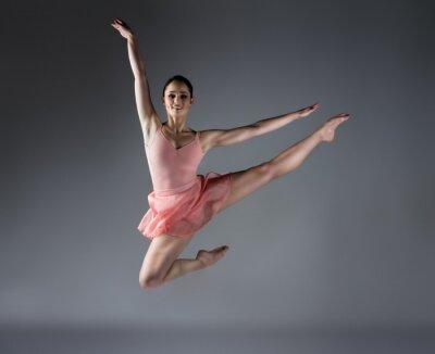 Carta da parati Female ballet dancer
