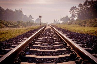 Carta da parati ferrovia epoca