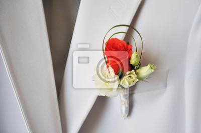 Carta Da Parati Rosa Bianca : Fiore allocchiello rosso e rosa bianca dello sposo carta da parati