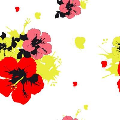 Carta da parati fiori di progettazione
